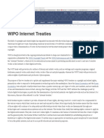 WIPO Internet Treaties