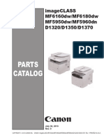 Parts Imageclass Mf6100 Mf5900 d1300 Pc