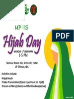 Hijab Day Tarpaulin