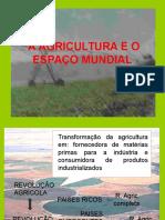Agricultura - Modernização e Modelos