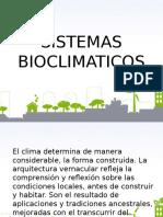 Sistemas Bioclimaticos