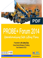 Operationalising Lifting Plan Safe Cranes Operation