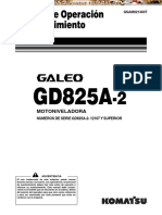 Manual Opmanual-operacion-mantenimiento-eracion Mantenimiento Motoniveladora Gd825a 2 Komatsu
