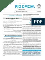 Diario oficial de Colombia n° 49.772 31 de enero de 2016