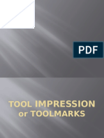 Foot and Tool Impression