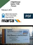 February 2, 2016 MARTA Brookhaven Community Forum Presentation