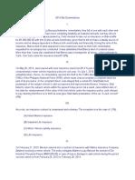 2014 Bar Examinations- Insurance