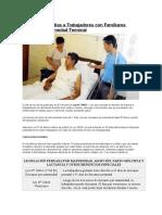 Licencia Por 7 Días a Trabajadores Con Familiares Graves o Enfermedad Terminal