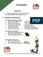 Programa matrimonial