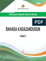 DSKP Bahasa Kadazandusun Tahap 1