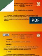 Apresentação Plano de Comando CBMPB Cel Jair