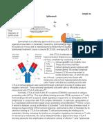 Ipilimumab Basic Immunology
