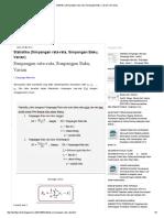 Statistika (Simpangan Rata-rata, Simpangan Baku, Varian) _ My Blog