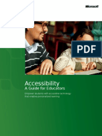Accessibility Guide for Educators Version3