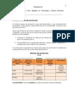 MEZCLA DE PRODUCTO Y CATEGORÍA DE NUEVOS PRODUCCTOS