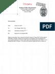 DPD Letterto FBI