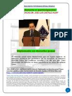Autoria y Participacion en El Derecho Penal