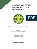 Program Fungsional, Arsitektural Dan Performasi