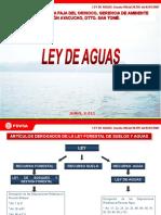 Presentacic3b3n Ley de Aguas