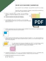 Aplicación de Las Ecuaciones Cuadraticas