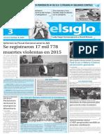 Edición Impres Elsiglo 03-02-2016