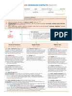 Personal Jurisdiction - Minimum Contacts Analysis FlowChart