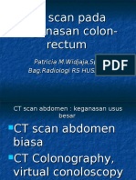 CT Scan CA Colon