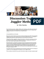 Tyler Durden - Discussion Topic Juggler Method Cd2 Id2013876395 Size557