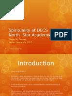 spirituality at northstar edison charter school