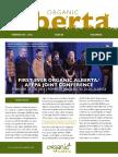 Organic Alberta Winter 2016 Magazine