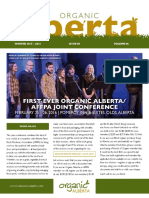Organic Alberta Winter 2016 Magazine
