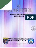 Administrasi Ulangan Akhir Semester i Tp. 2015-2016