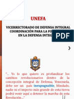Plán de Estudio Defensa Integral UNEFA ENERO2016
