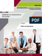 Wikis en Educacion