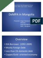 MONGOLIA - Angar Davaasuren