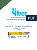 Manual de Referencia Del Modulo de Calidad de Aguas