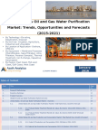 United States Oil and Gas Water Purification Market