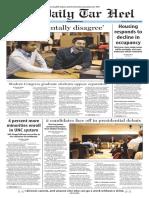 The Daily Tar Heel for Feb. 3, 2016