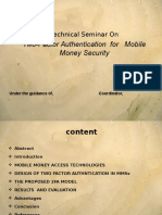 mobile money security