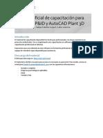 Capacitación de AutoCAD Plant 3D