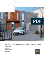 Products for Residentional Constructions 86310 En