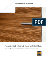 Residential Internal Doors Solid Style 86462 En