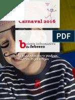 Boletín informativo de Febrero de la Concejalía de Infancia del Ayuntamiento de Coslada