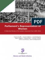Parliament Representation of Women