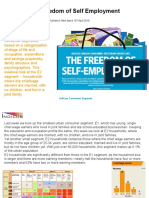 The Freedom of Self Employment