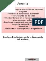 Anemia Geriatria