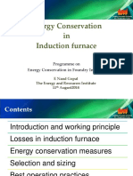 3 Energy Conservation in Induction Furnace