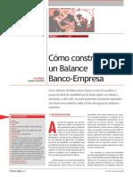 Balance Banco Empresa