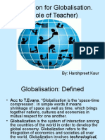 globalisation and education (role and skills of 21st century teacher)