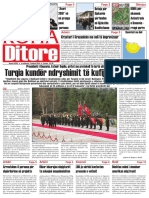 """Koha Ditore"" - ballina, 03 shkurt 2010"